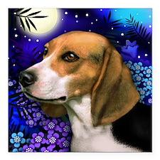 "beagle6 copy Square Car Magnet 3"" x 3"""
