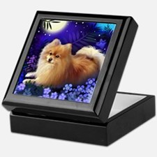 pomeranianmoon copy Keepsake Box