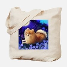 pomeranianmoon copy Tote Bag