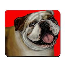 bulldog2 copy Mousepad
