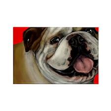 bulldog2 copy Rectangle Magnet