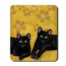 blackcats2 copyls Mousepad