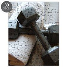 Fitness Gym Dumbells Puzzle