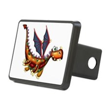 Goofy Flying Dragon Hitch Cover