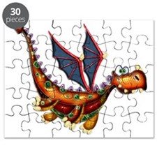 Goofy Flying Dragon Puzzle