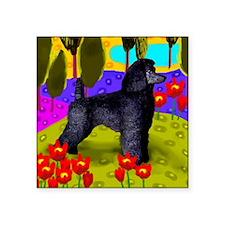 "poodlelake copy Square Sticker 3"" x 3"""