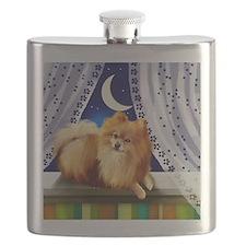 pomeranianwindowmoon copy Flask