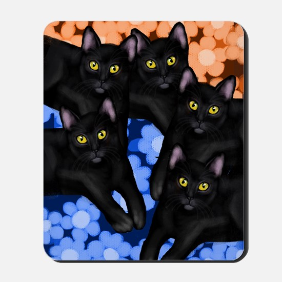 5blackcatslsc Mousepad