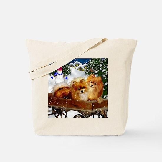 pomeranianvillagesn copy Tote Bag