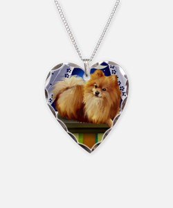 pomeranianlsw Necklace Heart Charm