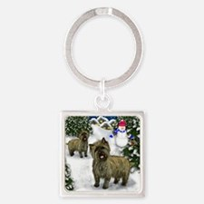 cairnvilagesn copy Square Keychain