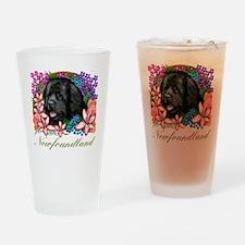 newfblack Drinking Glass