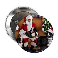 "santa clousbernese copy 2.25"" Button"