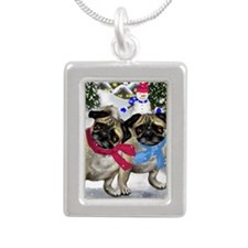 82 Silver Portrait Necklace