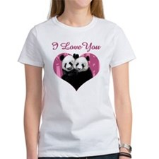 panda black Tee