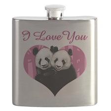 panda black Flask