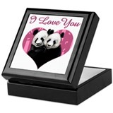 Panda Keepsake Boxes