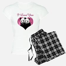 panda black Pajamas