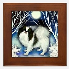 JC snown copy Framed Tile