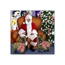 """santa clous cairns copy Square Sticker 3"""" x 3"""""""