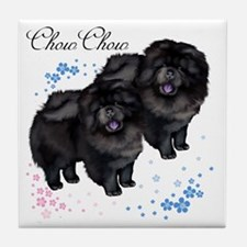 chowsflt copy Tile Coaster