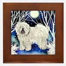 puliw snown copy Framed Tile