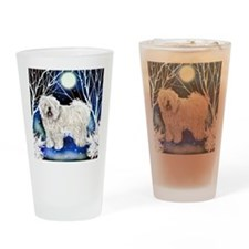 puliw snown copy Drinking Glass