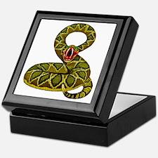 Menacing Rat Snake Keepsake Box