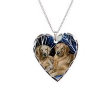 goldenretrievers snown copy Necklace