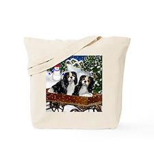 cavaliervillagesn copy Tote Bag