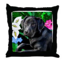 labrador 4 Throw Pillow