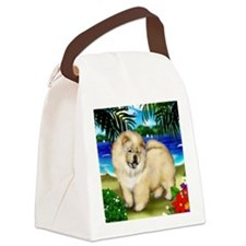 chowcream 5 copy Canvas Lunch Bag