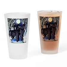 poodlesnown copy Drinking Glass