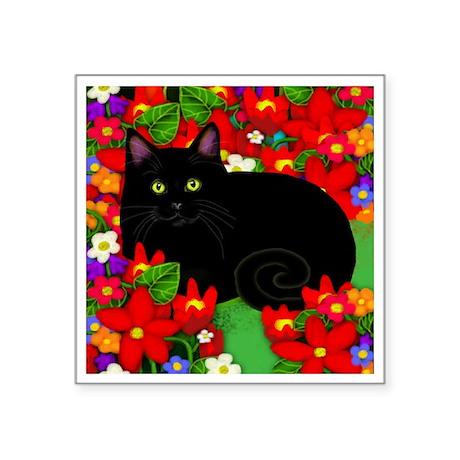 "catblgarden copy Square Sticker 3"" x 3"""