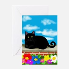 catcloudslsw copy Greeting Card