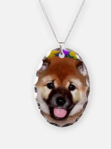 shiba inu pup copy Necklace