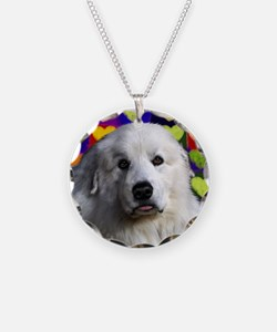 Great Pyrenees love copy Necklace