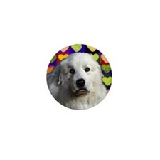 Great Pyrenees love copy Mini Button