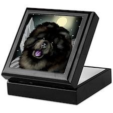 chowfairymoon copy Keepsake Box