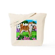 SHIBA INU GARDEN Tote Bag