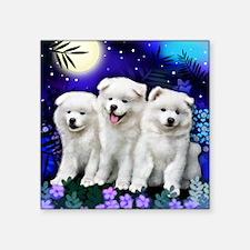 "eskiMOOGARDEN Square Sticker 3"" x 3"""