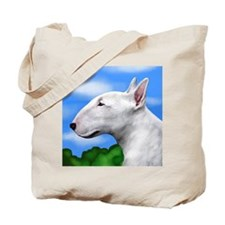 bullterriertrees copy Tote Bag