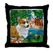 welshdogsparadise copy Throw Pillow