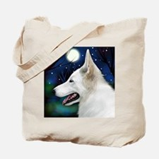 germanshepwhite2 copy Tote Bag