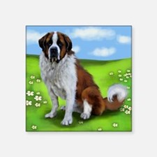 "saint bernard copy Square Sticker 3"" x 3"""