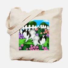 japanise chin garden copy Tote Bag