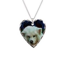 Samoyed print 2 Necklace