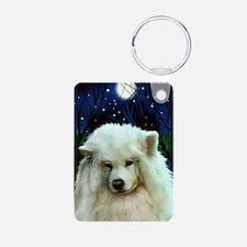 Samoyed print 2 Keychains
