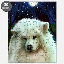 Samoyed print 2 Puzzle