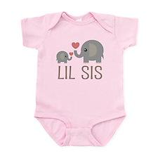 Lil Big Sis Infant Bodysuit